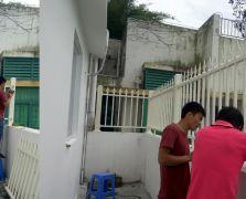 福田皇御苑楼顶阳台铝艺护栏