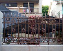 翠湖山庄别墅C6栋铝艺围墙护栏