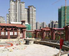 惠城中信凯旋城43栋铝艺阳台护栏