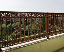惠城中信凯旋城43栋铝艺阳台扶手