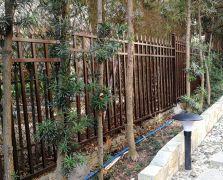 深圳观澜湖V3D2铝艺围墙护栏
