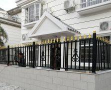 大绿地金豪花园13栋铝艺围墙护栏