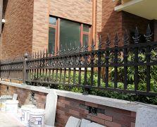 惠城奥林匹克花园铝艺围墙护栏