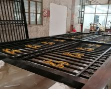 全国案例|浙江台州市别墅电动铝艺平移门
