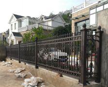 全国案例 四川南充市铝艺围墙护栏