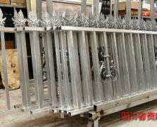 全国案例|四川资阳市铝艺围墙护栏