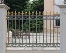 铝艺围墙护栏 JR805 量身定做
