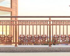 铝艺阳台护栏 JR317